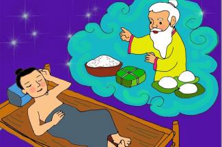 Lang Liêu và sự tích bánh Chưng bánh dày