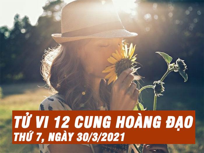 Tử vi ngày mới của bạn 30/3/2021: Ma Kết khó có một ngày vui vẻ, bình yên
