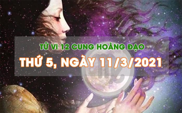 Tử vi ngày mới của bạn 11/3/2021: Thiên Bình gặp nhiều may mắn